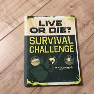 🍁3/$15🍁 Kids Survival Book (graphic novel)
